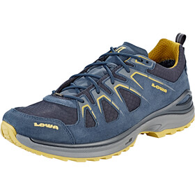 Lowa Innox Evo GTX Low Shoes Men steel blue/mustard